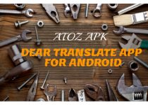 DEAR TRANSLATE APP