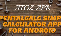 APENTALCALC SIMPLE CALCULATOR APP